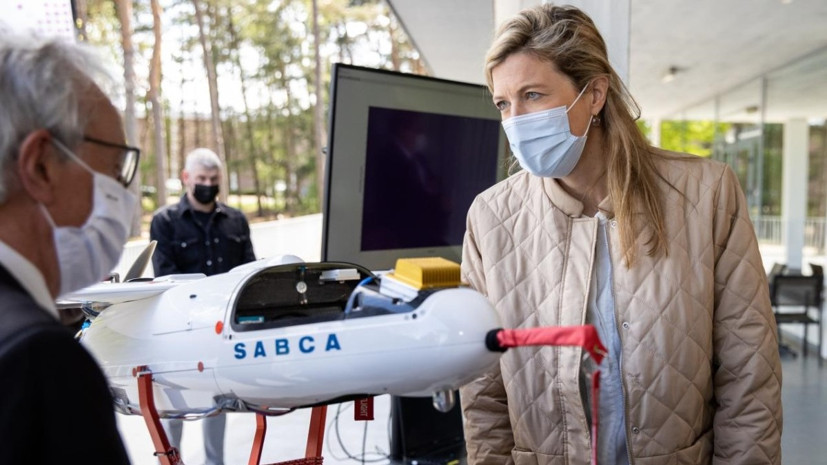 drones nuclear radiation monitoring
