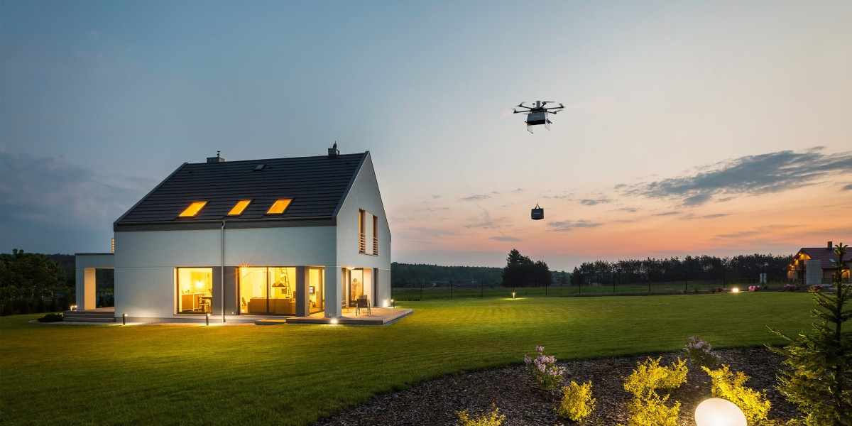 on-demand drone delivery north carolina