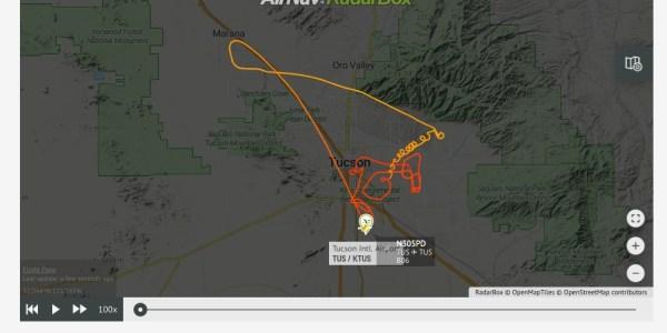drone police Tucson