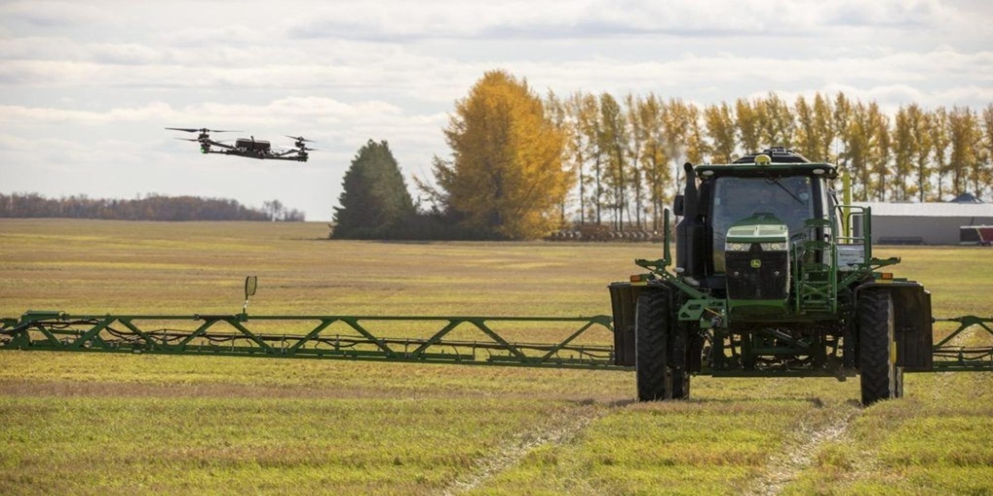 Precision farming company raises $20M to deploy AI drone swarms