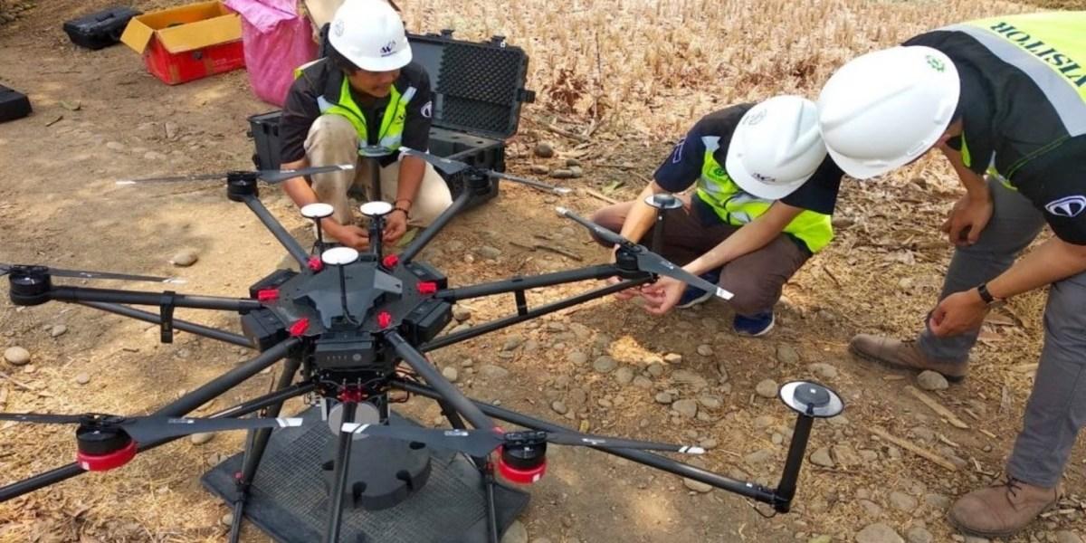 terra drone lidar