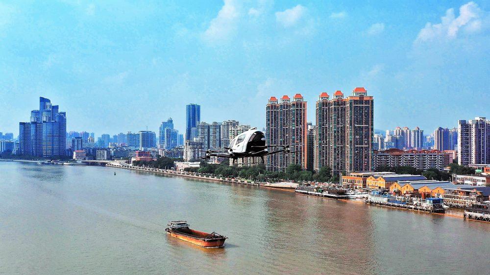 china drones covid