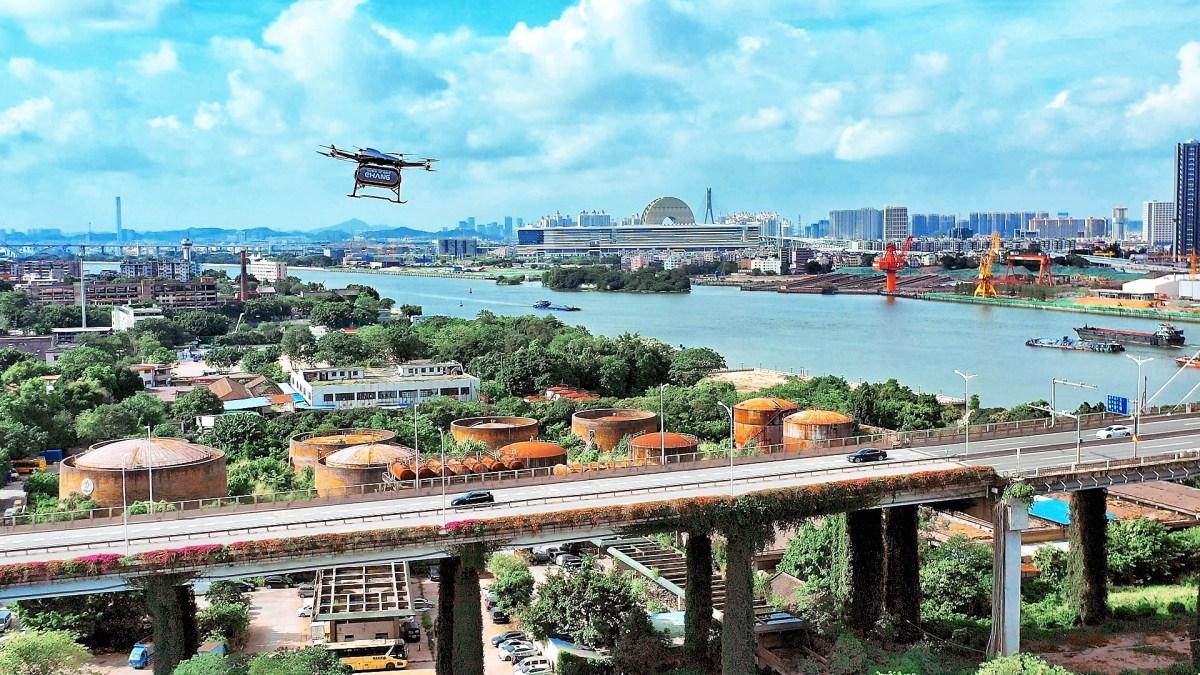 china covid drones