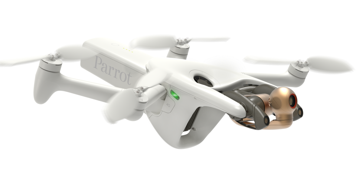 parrot anafi ai 4g drone early access