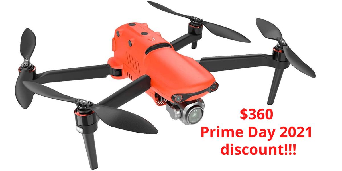 prime day 2021 deal autel drones
