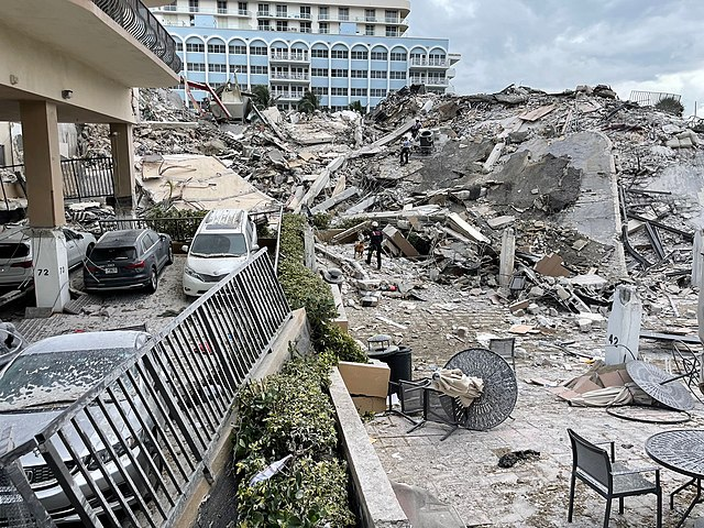 drone experts condo disaster