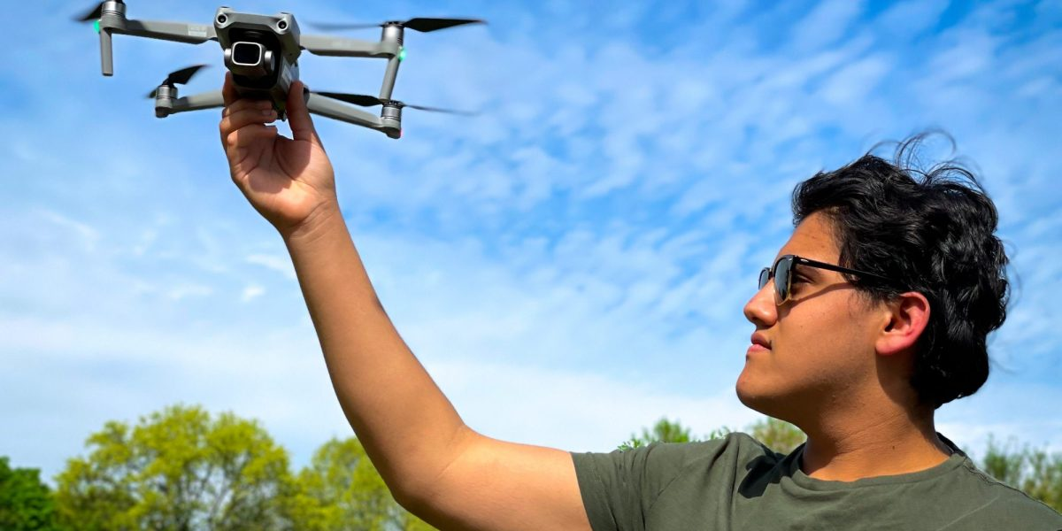 canada youngest drone pilot