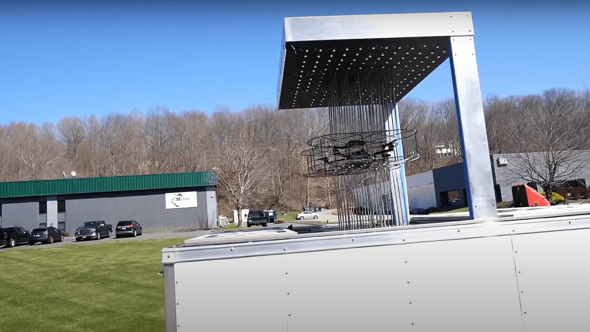 tular drone catcher