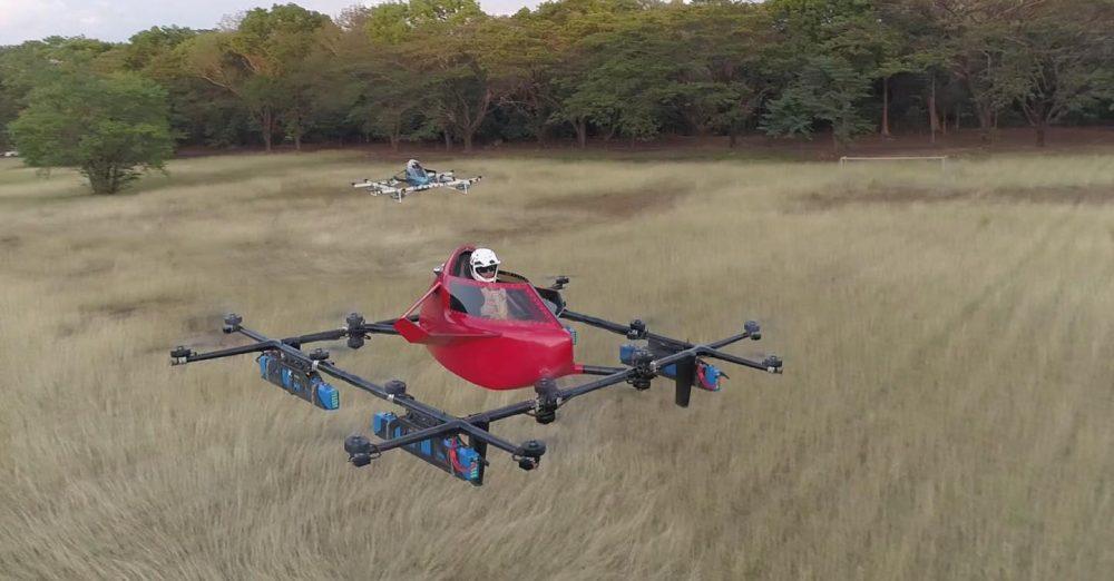 flying racing car
