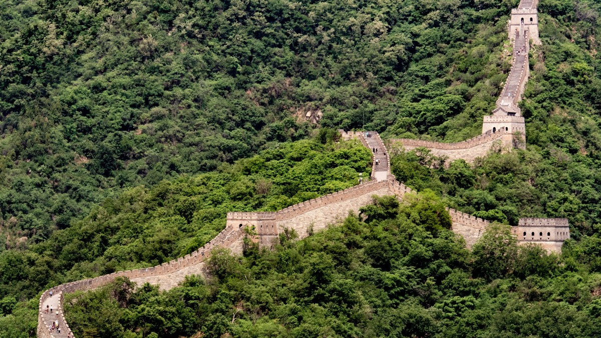 Great Green Wall China Africa