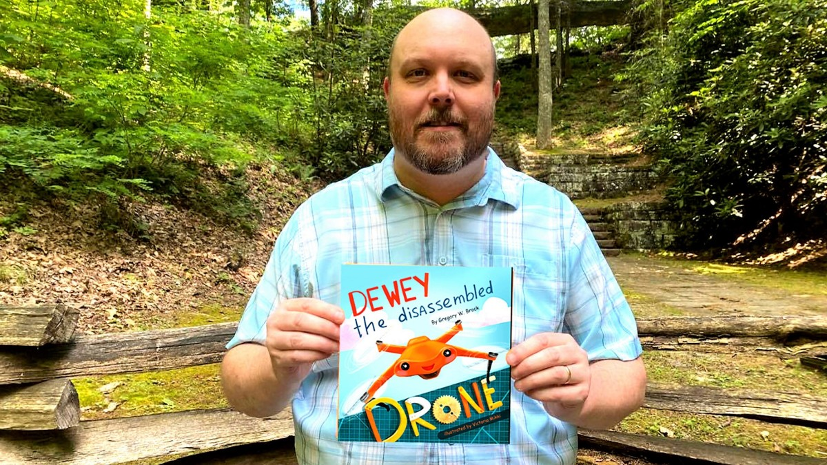 drone picture book dewey
