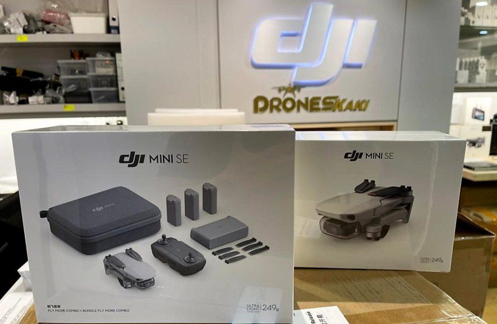 Lanzamiento de DJI Mini SE