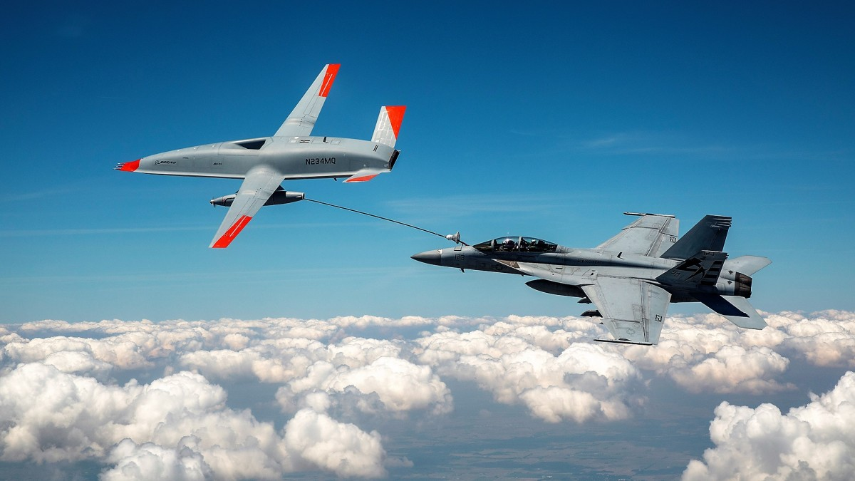 aerial refueling drone