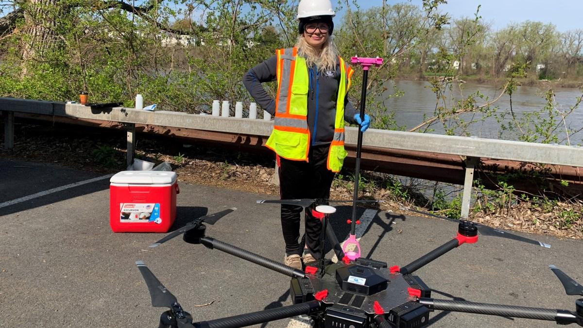 drone water sampling