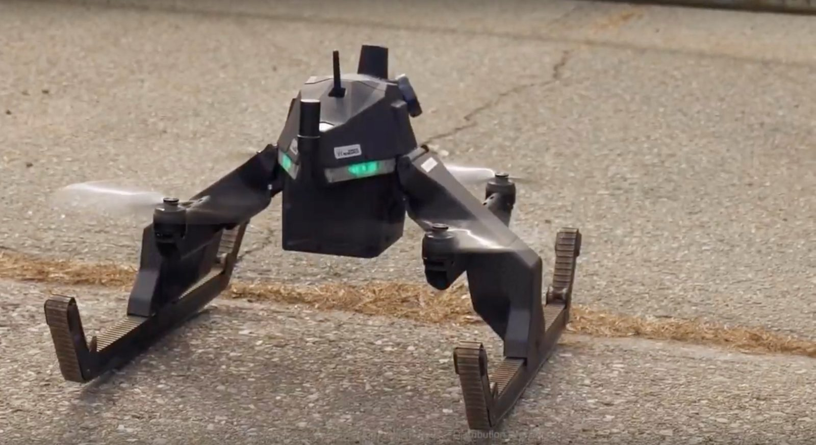 Your drone may be rad in flight, but can it drive around once landed? This one can