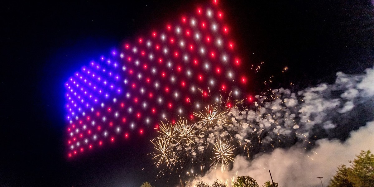 drone light show july 4