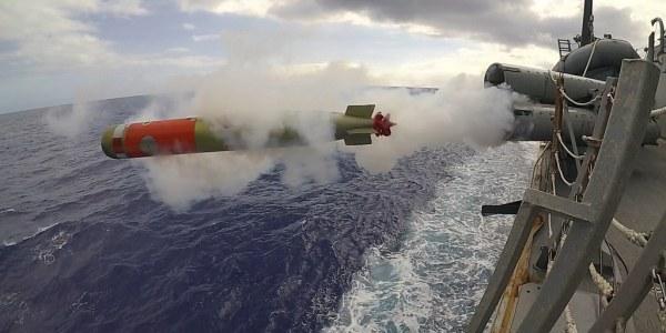 China drone underwater aerial