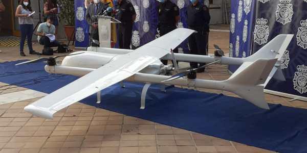 drone criminals transport drugs