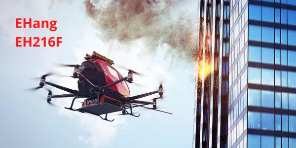 EHang firefighting drone