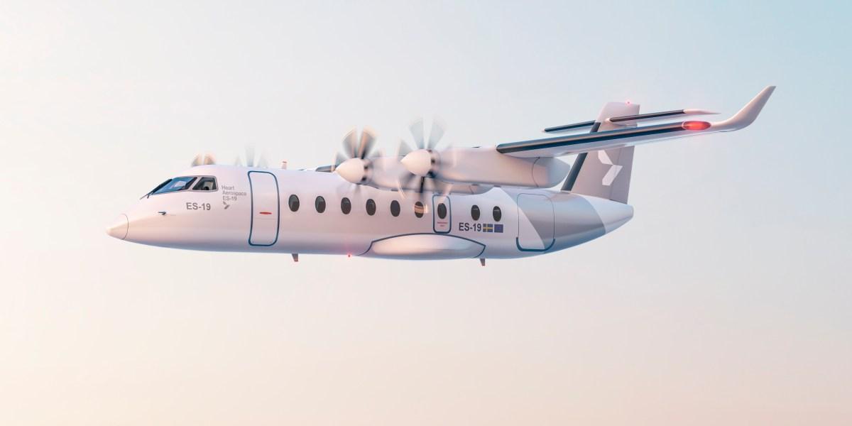 electric passenger plane