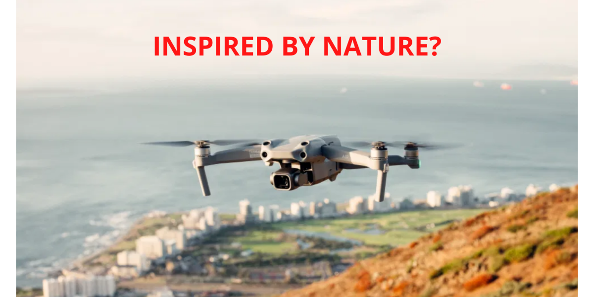 Drone features mimic nature