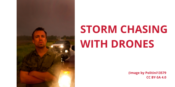 Reed Timmer storm chaser drones utah flooding