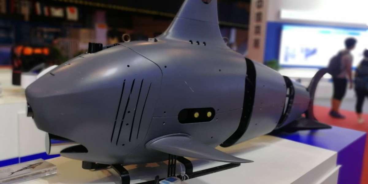 China military shark drone