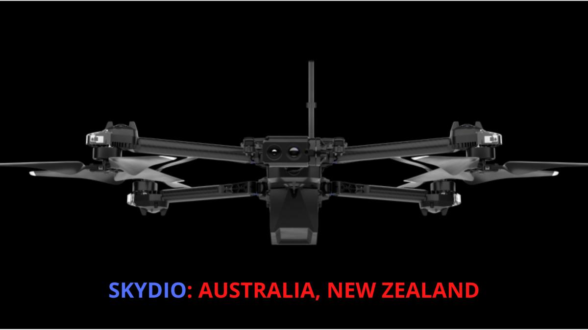 Skydio Australia New Zealand