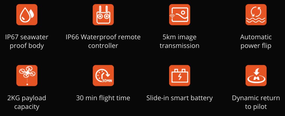 SwellPro Splashdrone 4 underwater drone