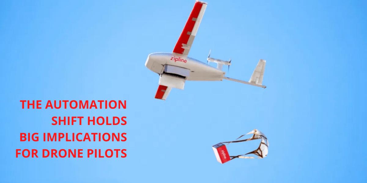 Enterprise drone pilot automation