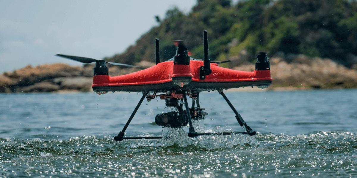 Swellpro Splashdrone 4 waterproof drone