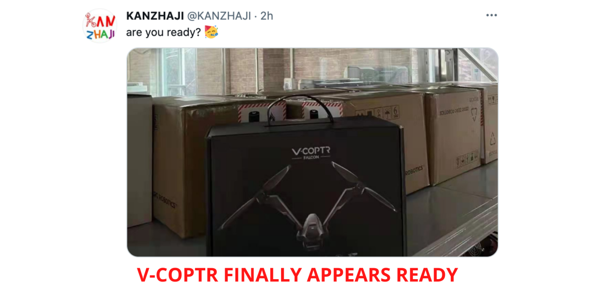 V-COPTR Falcon drone