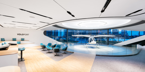 Volocopter Skyports eVTOL taxi