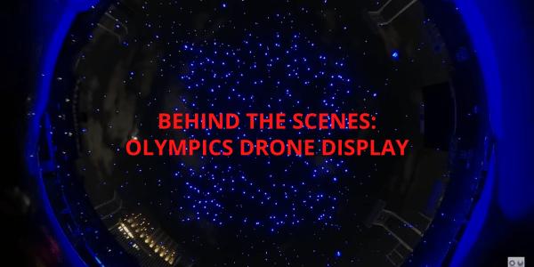 tokyo olympics drone globe