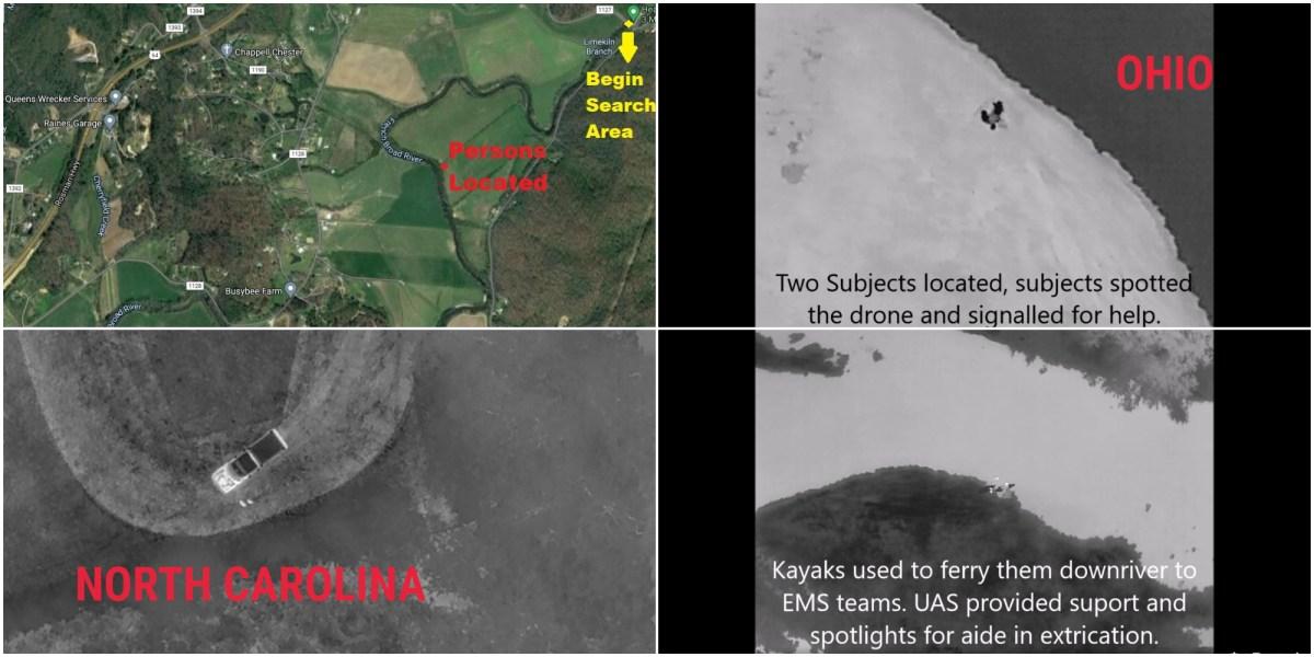 rescue drones