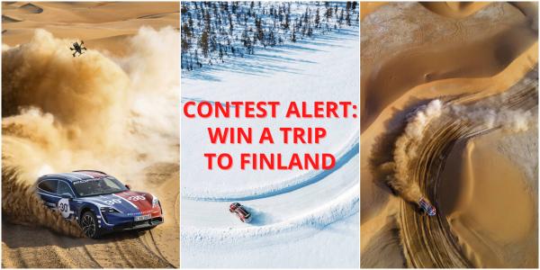 porsche johnny fpv finland trip contest
