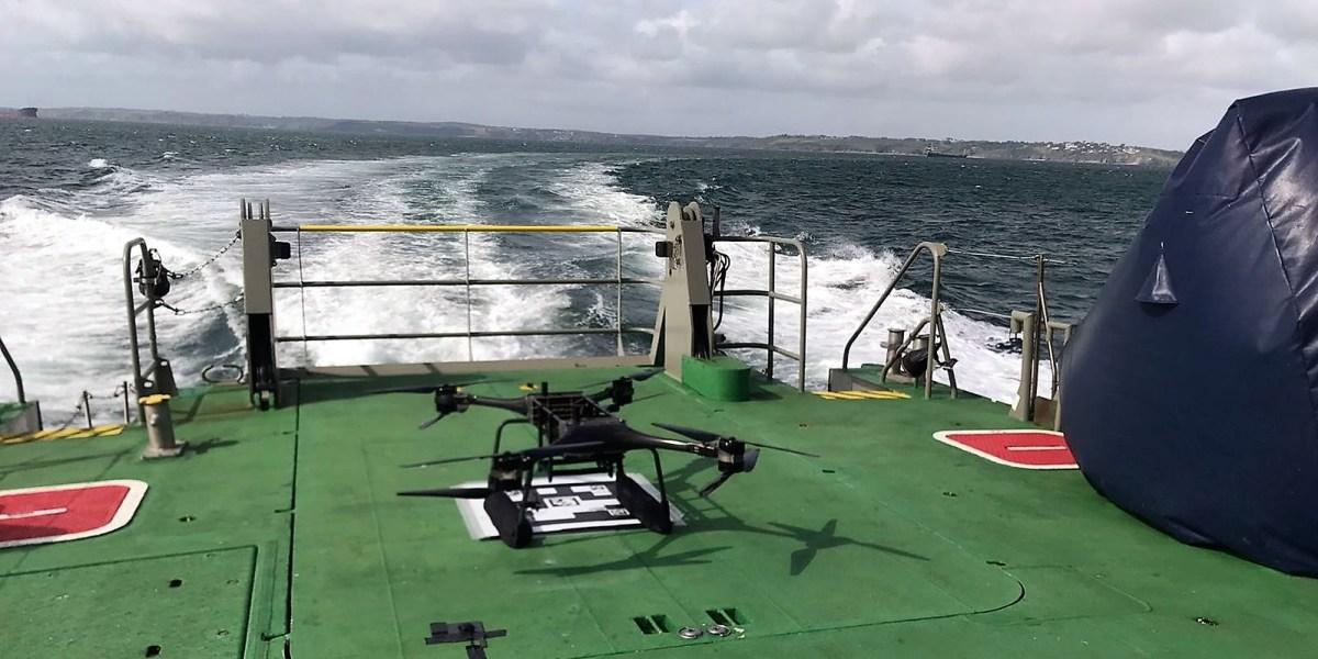 maritime rescue drones