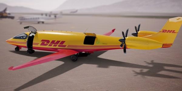 DHL electric aircraft
