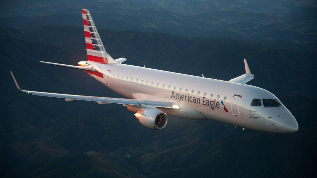 passenger plane hit drone