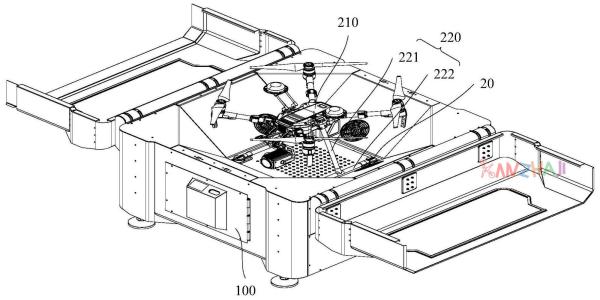 DJI drone-in-a-box patent