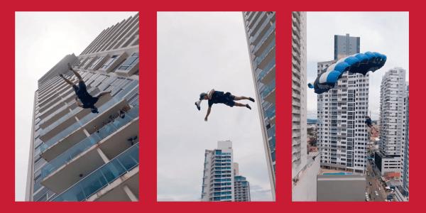 FPV BASE jumping videos
