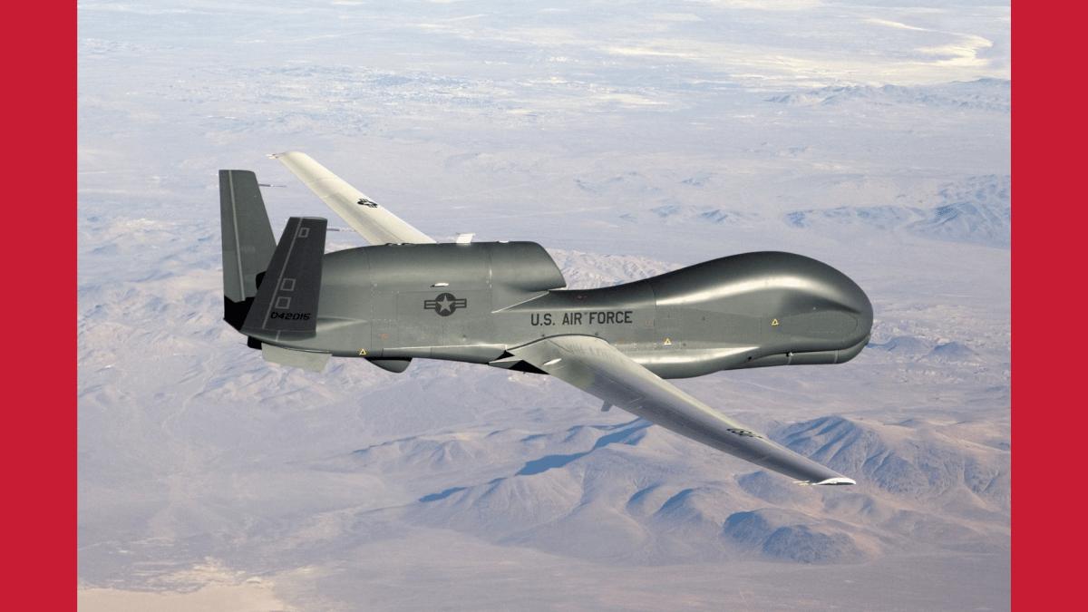$130M military drone crash