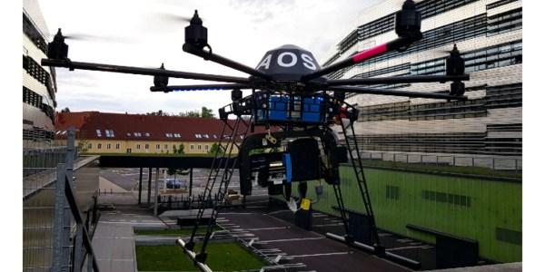 drone search rescue forest