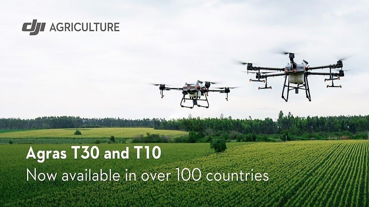 dji agricultural drones