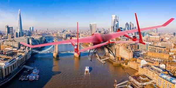 drone BVLOS hydrogen