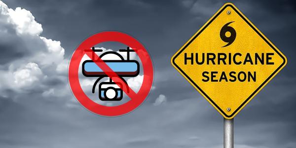 hurricane ida drone