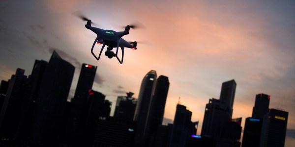 lucknow safe city project drone surveillance
