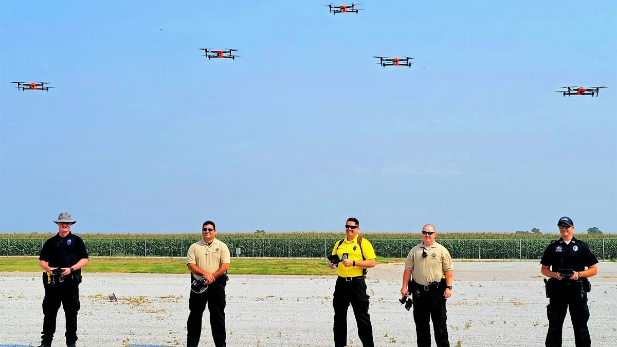 Crash investigation drones