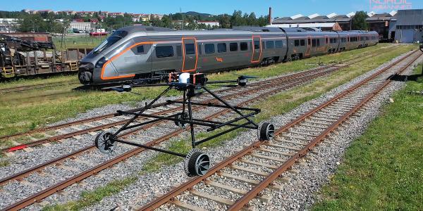 railway drone