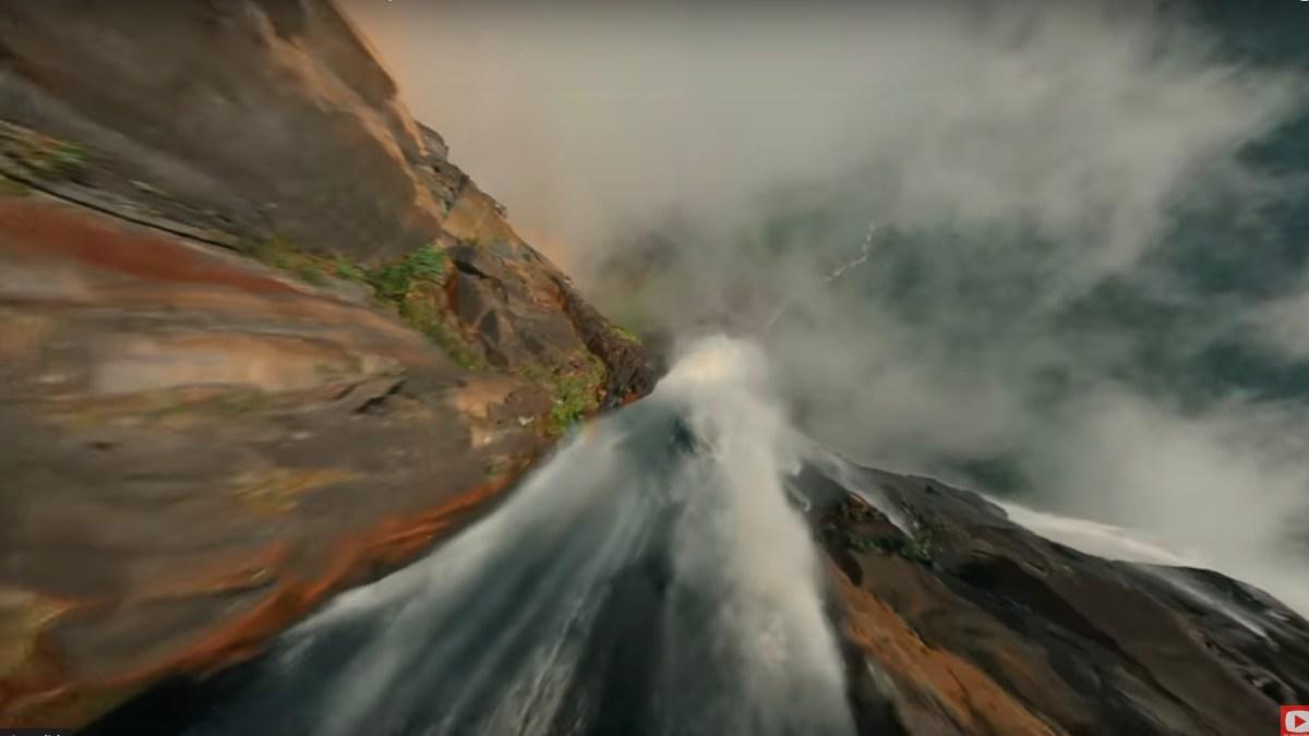 FFPV cinematic drone video